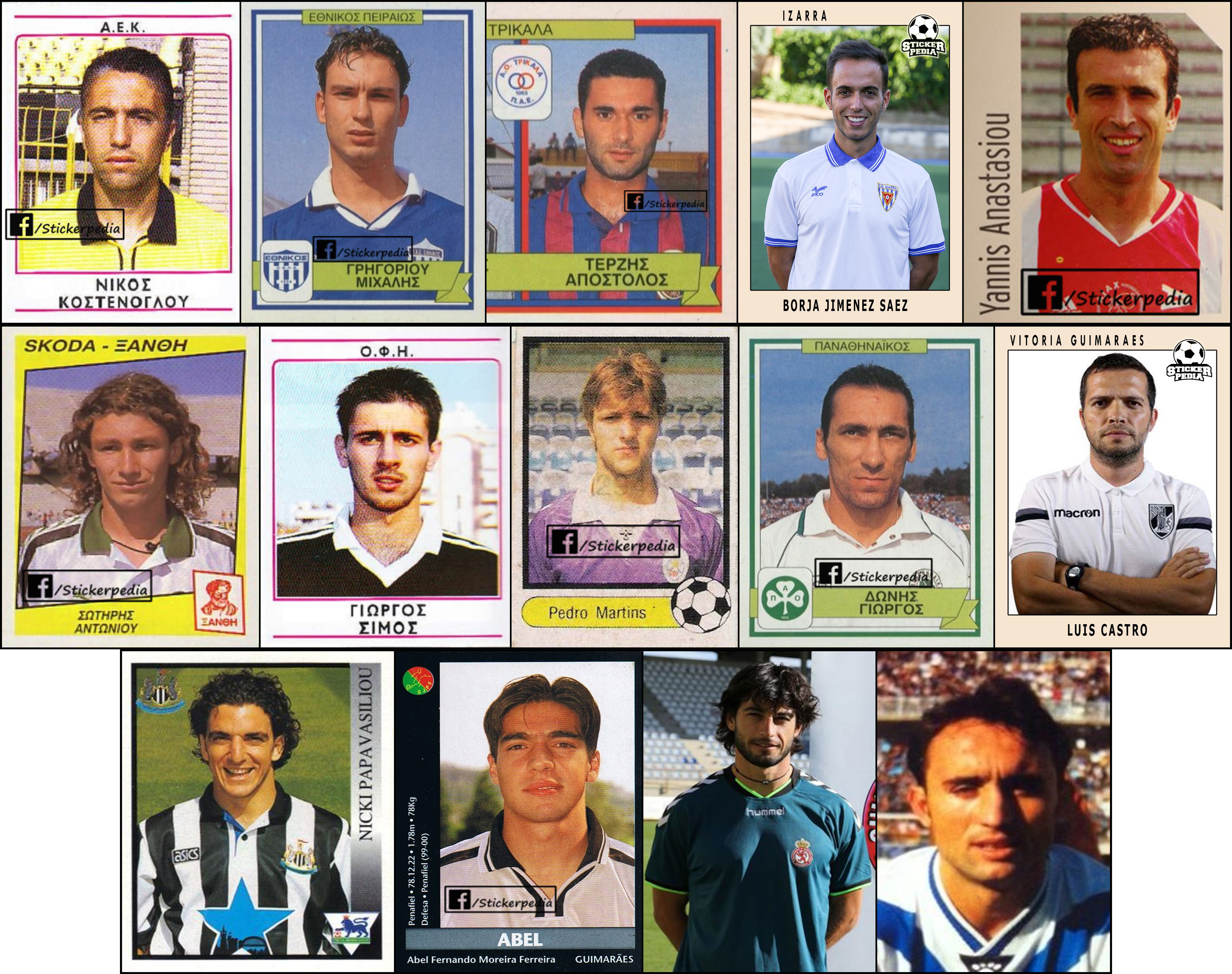 Stickerpedia: Οι προπονητές της Super League 1 ως ...